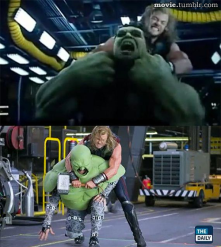 Before and After Visual FX in Movies