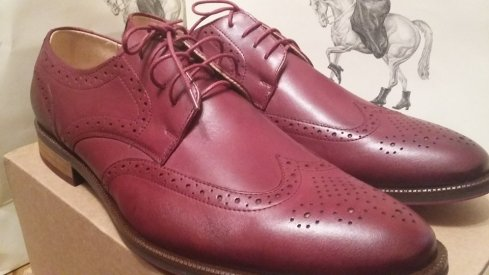 Model Name : Mens Shoe Colour: Bordo