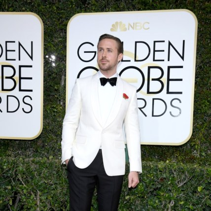 Ryan Gosling glowing in Gucci
