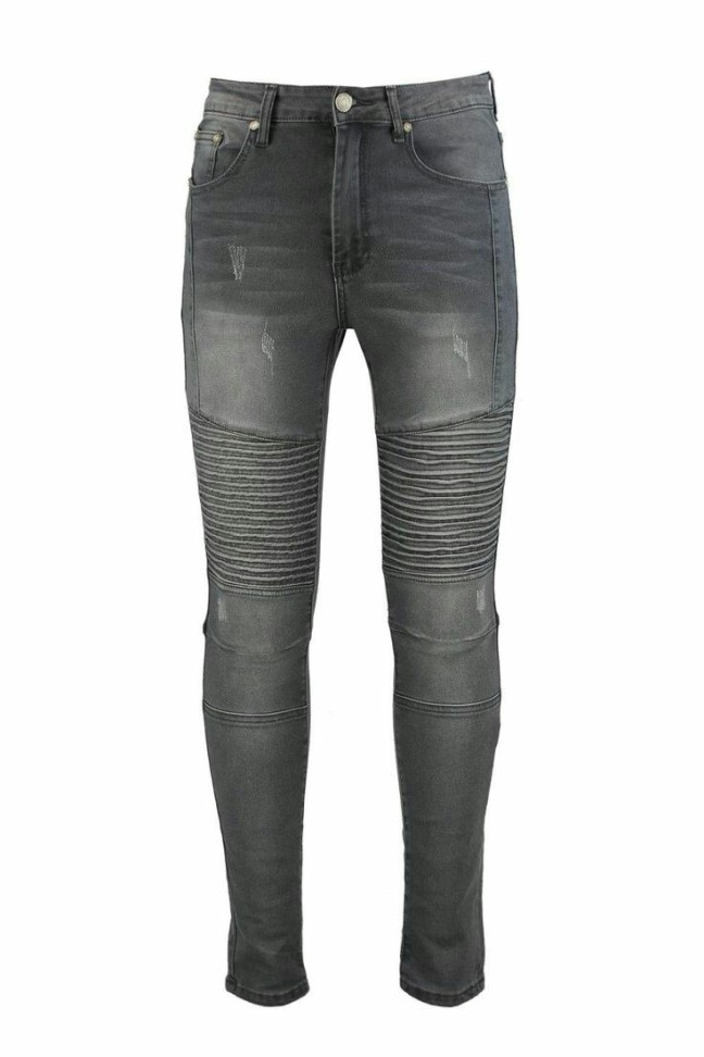 Skinny Ribbed biker Jeans. £25 from Boohoo Man. A casual jean like this can be put with