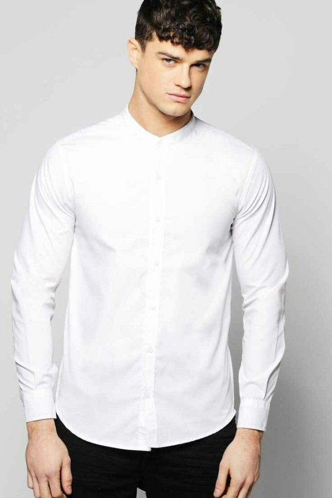 Grandad Collar Shirt with side zips. £14 from Boohoo Man. Modeled by Christian Williams. You really can't got wrong with a simple white shirt. The Side Zips of the shirt add a bit of an urban street style vibe. This can be worn with a Blue Blazer with blue trousers or dark jeans and a bomber Jacket. The possibilities are almost endless but whatever you do, make it stand out. You only have 7 seconds to make a good first impression, so no pressure!