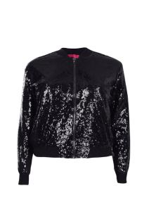Hana Sequin Bomber Jacket. £18 from Boohoo