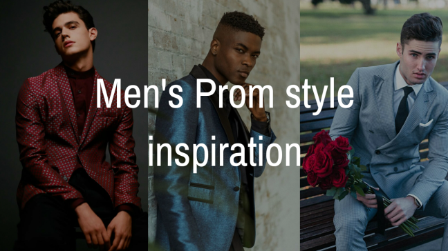 Men's Prom Style Inspiration